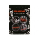 "PARAMORE ""Riot"" Official Badge Pack (4 x 1.5"" Badges)"