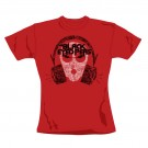 "BLACK EYED PEAS ""Out Of Mind"" Official Women's Red T-Shirt (L)"
