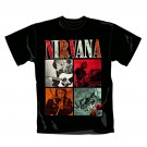 "NIRVANA ""Four Squares"" Official T-Shirt (XL)"