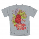 "YOU ME AT SIX ""Flowers"" Official Men's Cotton Grey T-Shirt (XL)"