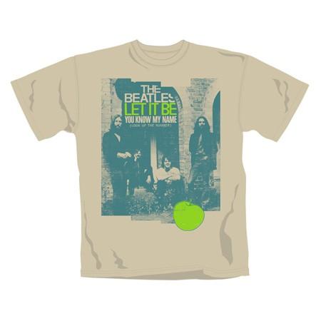 """BEATLES """"Let It Be"""" Official T-Shirt (L)"""