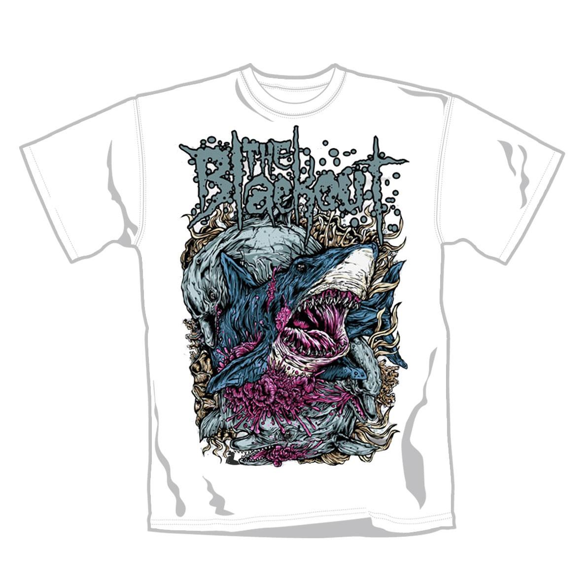 """BLACKOUT """"Sharks"""" Official T-Shirt (L)"""
