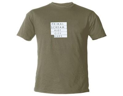 "PRIMALSCREAM ""Riot City"" Official T-Shirt (L)"