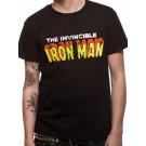 "IRON MAN ""Invincible"" Official Men's T-Shirt (S)"